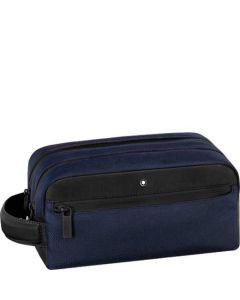 This is the Montblanc Navy Nightflight Wash Bag.