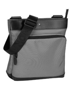 This is the Montblanc Grey NightFlight Envelope Bag with Gusset.