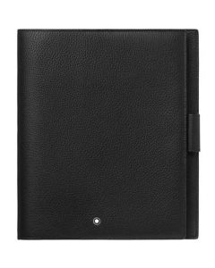 This is the Montblanc Meisterstück My Office Black and Gold Medium Notebook.