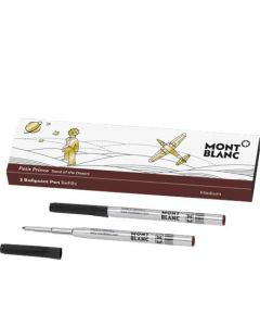 These are the brown Montblanc Le Petit Prince and Aviator ballpoint pen refills.