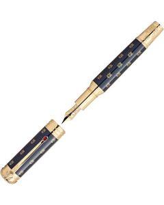 This is the Montblanc Limited Edition Patron of Art Napoléon Bonaparte 4810 Fountain Pen.