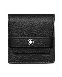 The brand new Montblanc soft grain leather cufflink pouch.