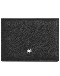 This is the Montblanc Meisterstück My Office Black and Red Business Card Holder.