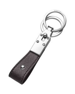 This is the Montblanc Sartorial Evolution Graphite Loop Key Fob.