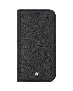 This is the Montblanc Black Sartorial Flip iPhone 12 Mini Case.