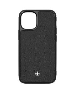 This is the Montblanc Black Sartorial iPhone 12 Mini Case.