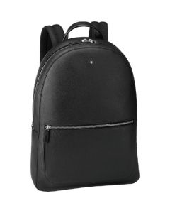 This is the Montblanc Slim Black Meisterstück Soft Grain Backpack.