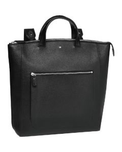 This is the Montblanc Black Meisterstück Soft Grain Tote.
