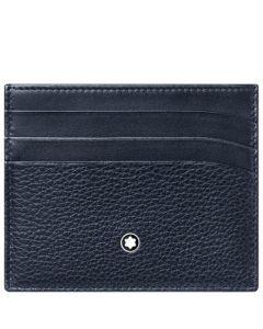 This is the Montblanc Blue Meisterstück Soft Grain 6CC Pocket.