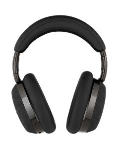 These are the Montblanc Ultra Black Over-Ear MB 01 Smart Travel Headphones.