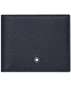 This Montblanc blue wallet is part of their Meisterstück collection.