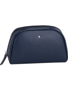 This Montblanc vanity bag is part of the sartorial leather range.