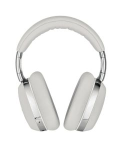 These Montblanc Gray Over-Ear MB 01 Smart Travel Headphones are wireless.