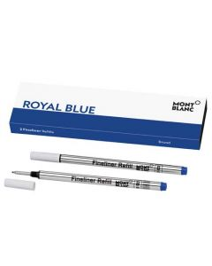 This is the Montblanc Royal Blue Fineliner Refill (B).