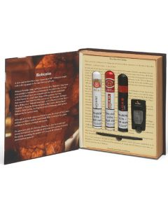 This is the Montecristo The Robusto Book Gift Set.