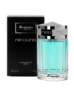 Montegrappa 100ml NeroUno After Shave Lotion - lightly scented.