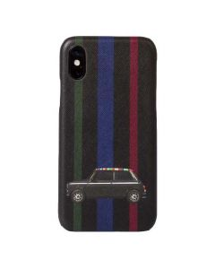 This is the Paul Smith Mini Stripe iPhone X Case.