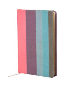 This Paul Smith small notebook comes with their famous stripe design.