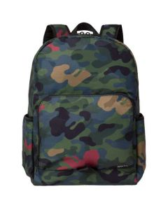 This Paul Smith backpack comes with a Khaki Camo print.
