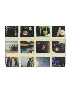 This Paul Smith card holder comes with a instant photo print on the front.