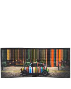 This is the Paul Smith Covent Garden Mini Print 8CC Wallet.