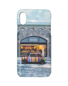 This is the Paul Smith Kings Cross Mini Print iPhone X Case.