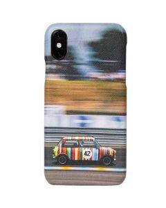 Paul Smith Racing Mini Print iPhone X Case.