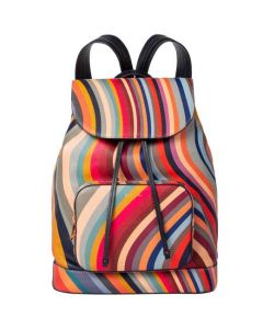 This is the Paul Smith Women's Swirl Backpack with Front Pocket.