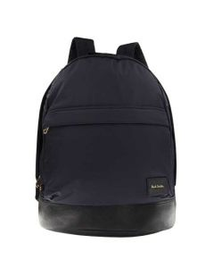 This Paul Smith backpack is made from a navy nylon material.