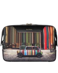 This is the Paul Smith Covent Garden Mini Print Wash Bag.