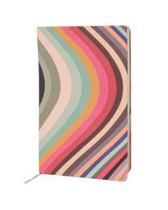 The Paul Smith swirl medium notebook.