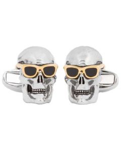 These skull cufflinks have been designed by Paul Smith.