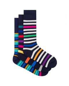 The Paul Smith striped blue socks.