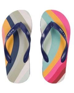 These swirl flip flops have been designed by paul smith.