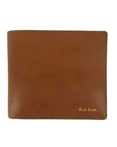 This Paul Smith wallet is made from a smooth brown leather.