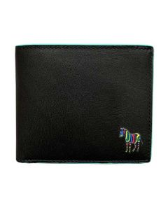 This Paul Smith mens wallet comes with the Zebra logo on the front.