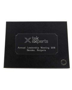 Bespoke Wallet Embossing and Plaque Engraving - Tek Experts