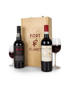 Port & Claret Gift Box.