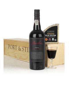 Classic Port & Stilton Christmas Gift Set.