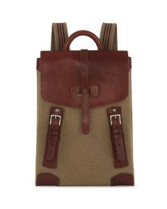 This is the Purdey 18L Moss Green Backpack with Blanket Carrier.