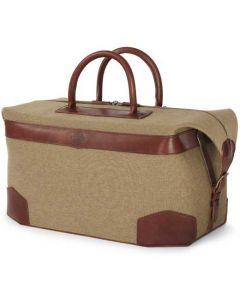 The Purdey London moss green 48 hour holdall.