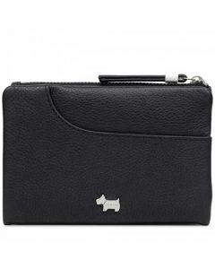 This is the Radley Black London Pockets Medium Bifold Purse.