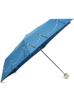 This is the Radley Teal Driving Home for Christmas Umbrella.