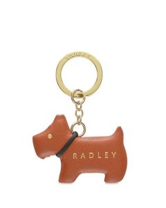 This is the Go Walkies Ginger Biscuit Keyring designed by Radley.