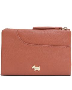 This is the Radley Ginger Biscuit London Pockets Medium Bifold Purse.