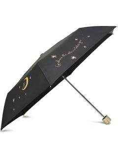 This is the Radley Black Go Where the Stars Take You Umbrella.