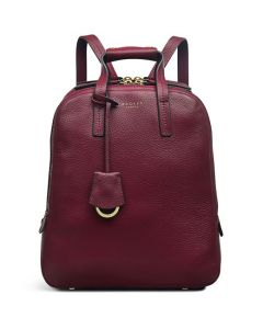 This is the Radley Merlot Dukes Place Medium Backpack.