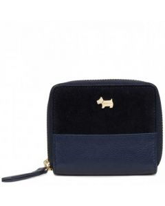 This is the Radley College Green Navy Small Purse.