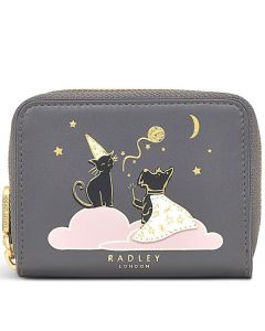 This is the Radley Thunder Grey Double Trouble Zip-Around Purse.