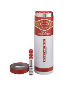 These are the Romeo y Julieta 12 Short Churchill Cigars in XL Tube.